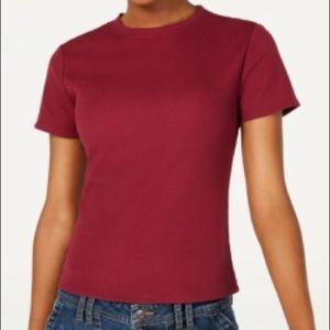 Ultra flirt juniors crew neck baby T-Shirt